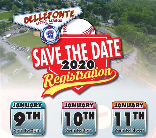 2020 League Registration